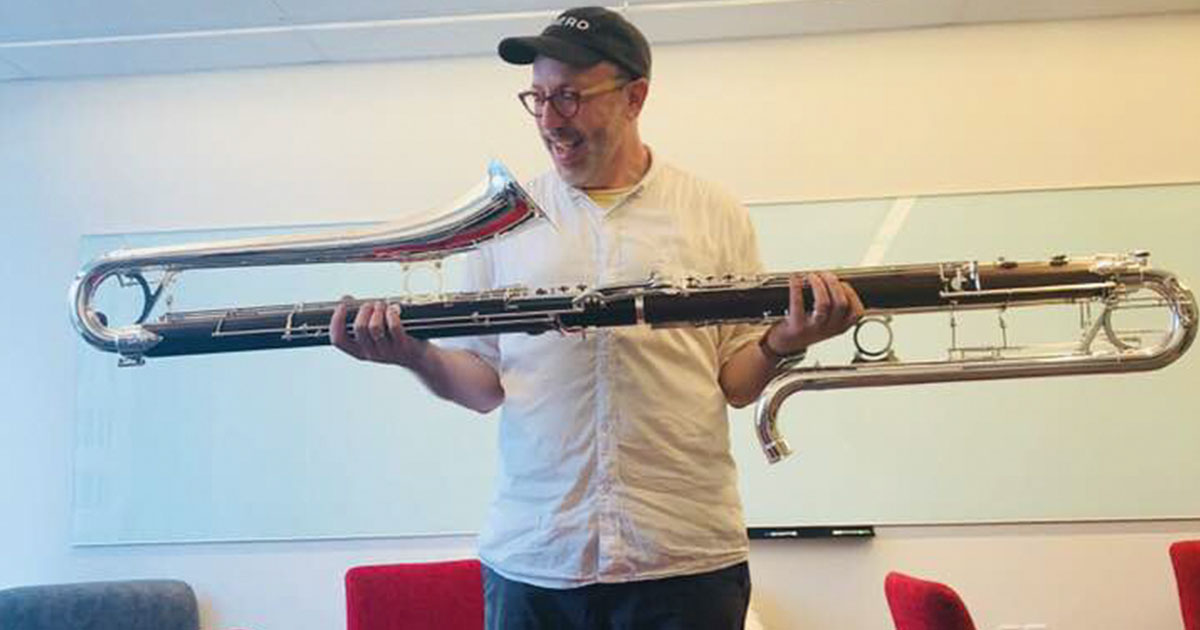 Michael Lowenstern Reviews the Selmer 41 Contrabass Clarinet