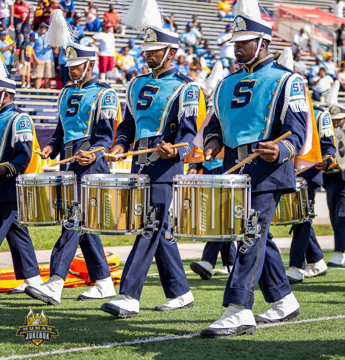 Southern University Marching Band Receives Ludwig Ultimate