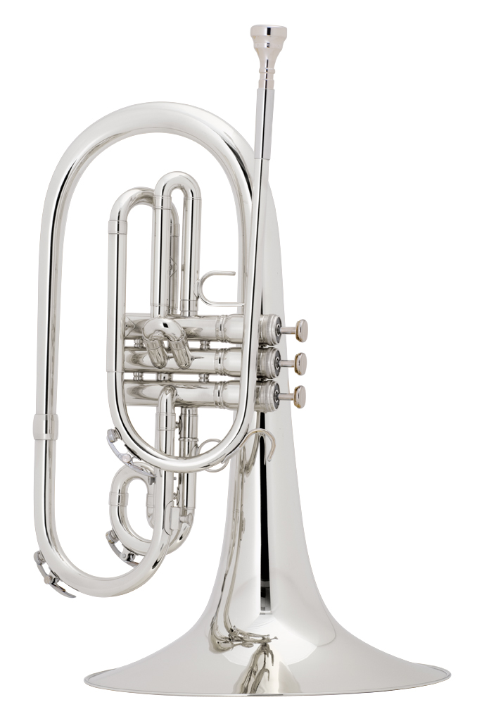 King Professional Model 1121SP Marching Mellophone
