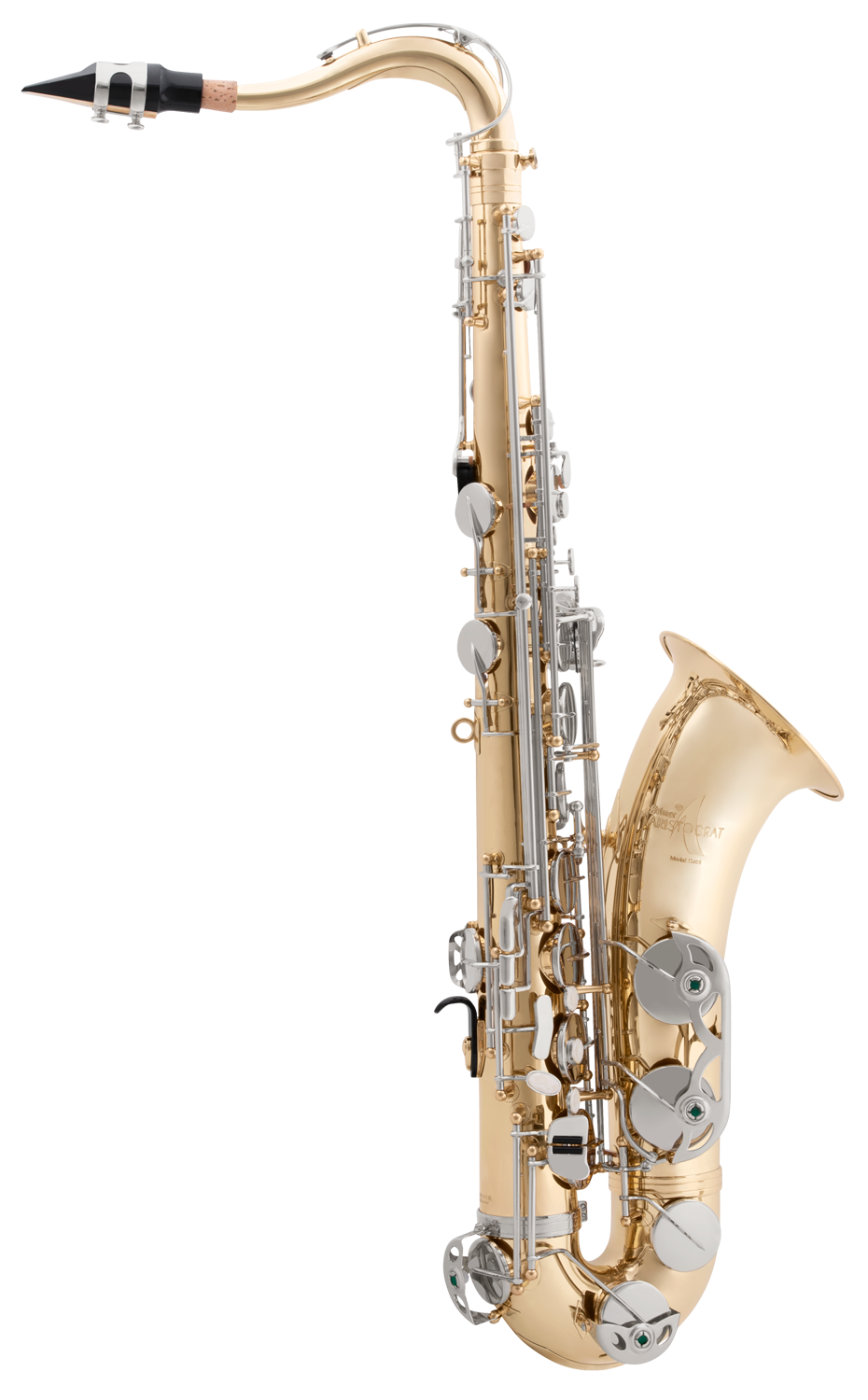 TS600 Selmer Aristocrat Bb Tenor Student Saxophone Nickle Plated Keys Lacquered Body