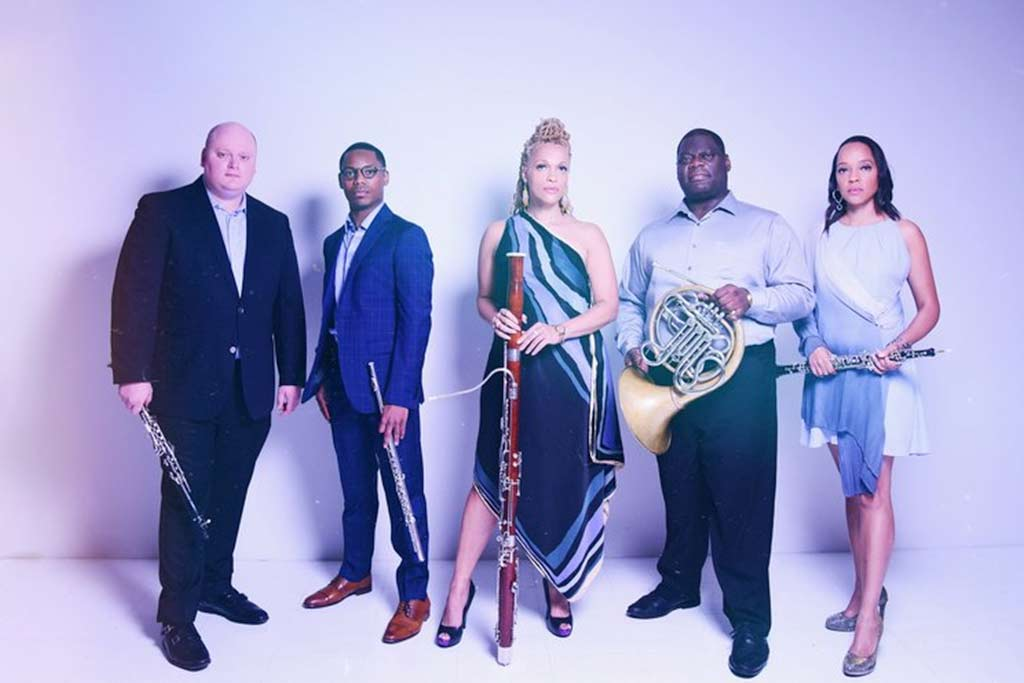 Imani Winds Collective Group Photo