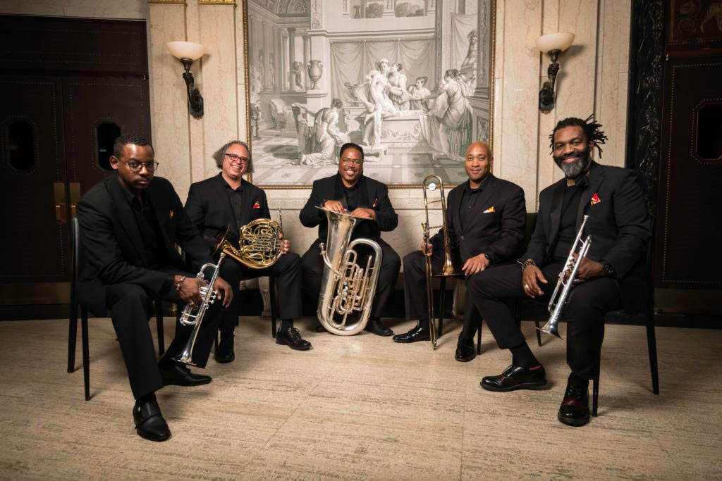 Gateways Brass Collective Group Photo