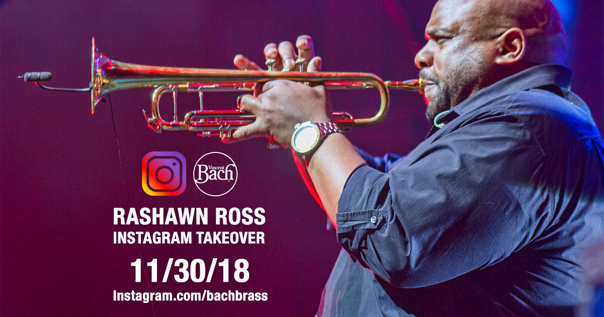 Bach Artist Rashawn Ross Instagram Takeover 11/30/18