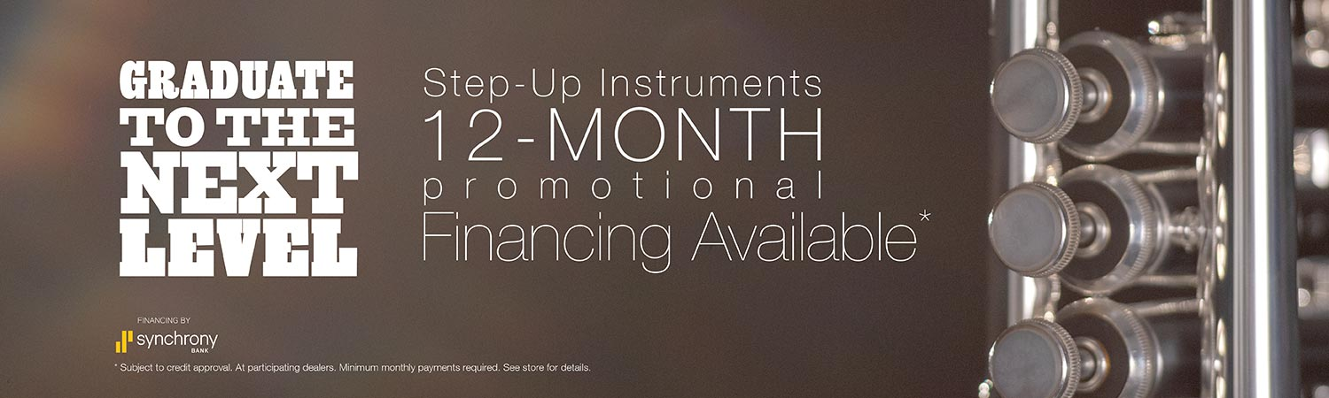 18-month promotional financing available for qualifying step