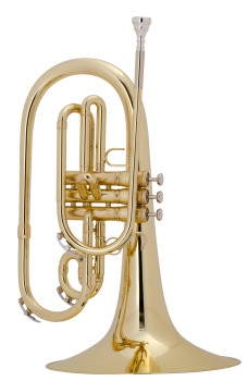 image of a 1121 Professional Marching Mellophone